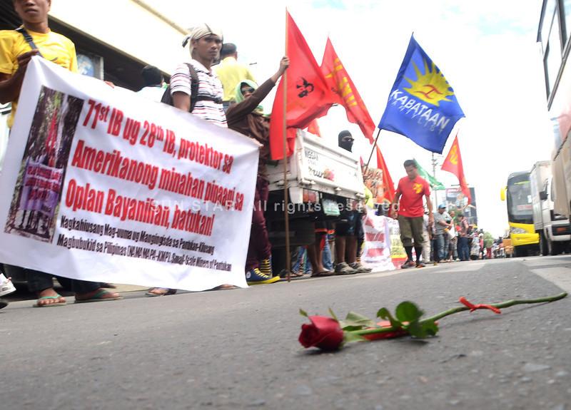 Rosas sa dalan sa Davao