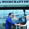 Mandaue City Mayor Jonas Cortes attends the opening of the Sara Woodcraft furniture showroom in The North Atrium. Sara Woodcraft started its Philippine operations last October 2012 and has a plant in Tingub, Mandaue, apart from the showroom. (Allan Tangcawan)