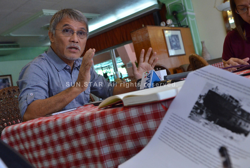Former Camotes vice mayor Alfredo Arquillano on natural disasters