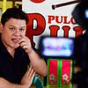 DAVAO. Si Vice Mayor Paolo Duterte namahayag sa iyang gibati labot sa mga negusyante nga giingon nga wa nakabayad sa ilang buhis atol sa Pulong-Pulong ni Pulong didto sa Barangay Baganihan, Marilog District, siyudad sa Davao kagahapon, Lunes. (King Rodriguez)