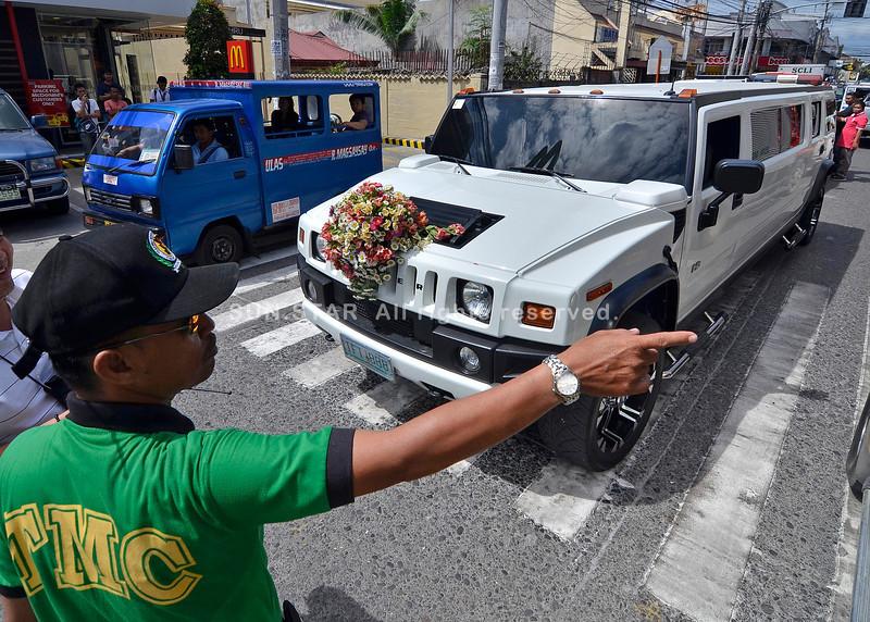 Bridal car nabangga