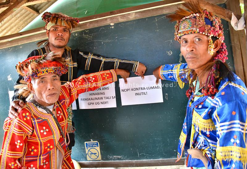 Thumbs down sa mga lumad