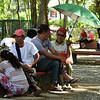 Osmeña Park goers