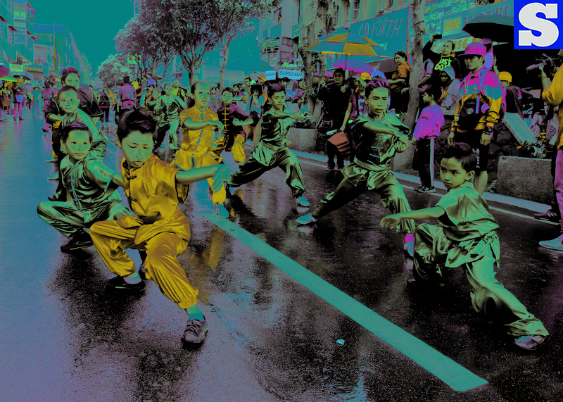 Wushu at Spring Festival