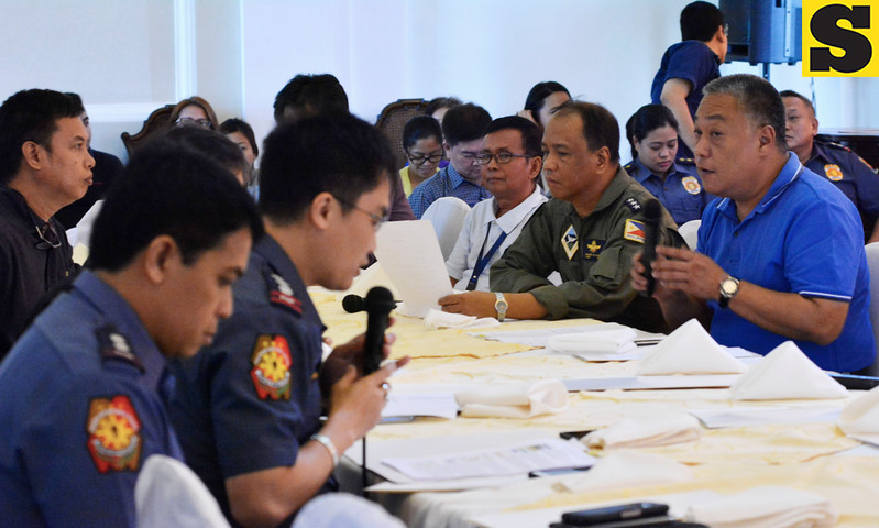 Provincial Peace and Order Council meeting with Hilario Davide