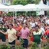 Cebu City Mayor Mike Rama and Vice Mayor Edgardo Labella attend mass