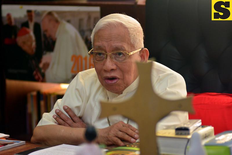 Cebu Archbishop Emeritus Ricardo Cardinal Vidal