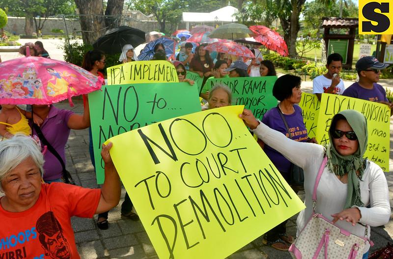Urban poor rally in Cebu City