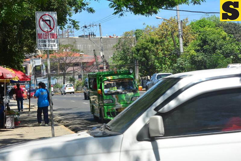 No left turn in Mandaue City