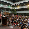 Miriam Defensor-Santiago at UC Banilad Cebu