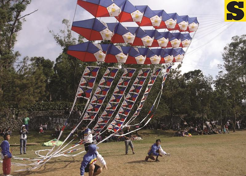 Philippine Flag-themed kite