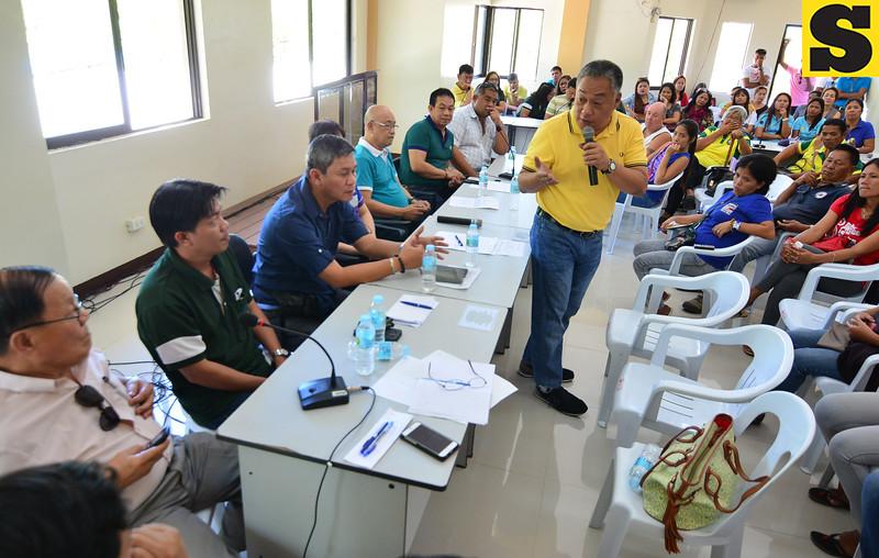 Bantayan power meeting