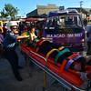 Sambag 2 emergency rescue team attends to injured jeepney passengers