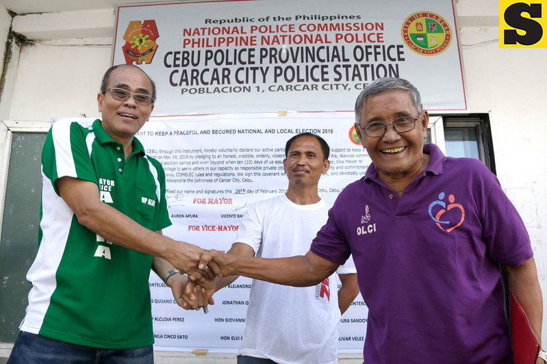 Peace covenant in Carcar City