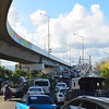 Heavy traffi c is expected at the Marcelo Fernan Bridge