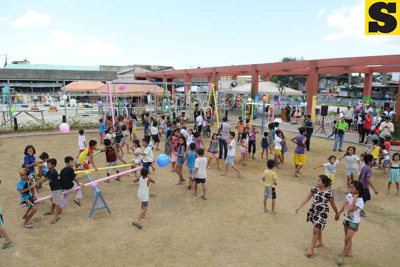 Children's Park at the old Pasil Fish Market