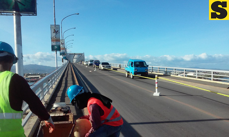 Mandaue-Mactan bridge repair