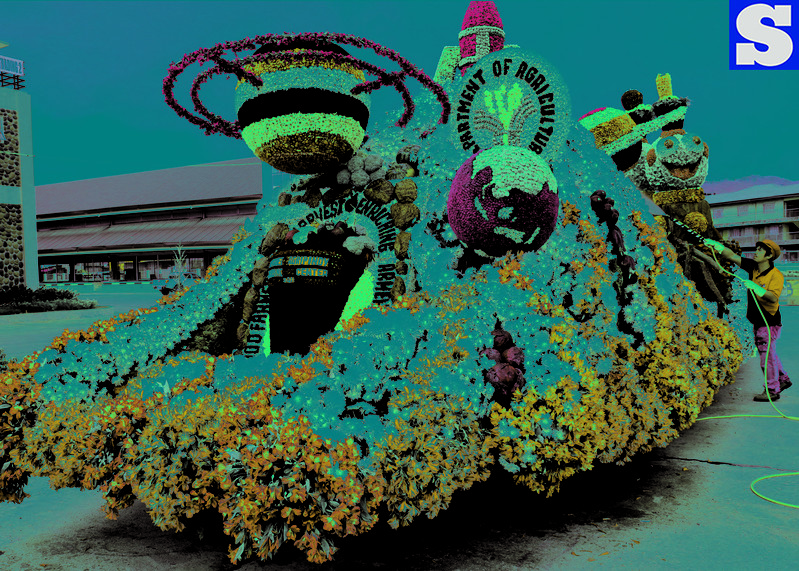 Panagbenga float parade