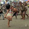 Bato late or Tumba Lata game among children