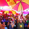 "FIESTA SEÑOR. Devotees brave the rain during the ""Walk with Jesus"" procession, marking the start of the Fiesta Señor. (Sun.Star Photo/Alex Badayos)"