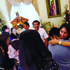 NO CONSENSUS. Gov. Gwendolyn Garcia's family have differing views on whether she will dance during the Sinulog grand parade. In this fi le foto, the suspended governor greets family members after hearing mass inside her offi ce at the Capitol, where she has been staying since the posting of the order for her suspension last December 19. (Sun.Star Photo/Amper Campaña)