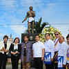 PAMPANGA. Senator Jamby Madrigal and City of San Fernando Mayor Oscar S. Rodriguez lead Thursday's wreath-laying in commemoration of the 137th birth anniversary of Pedro Abad Santos y Basco at the Heroes Hall, City of San Fernando. (Chris Navarro)