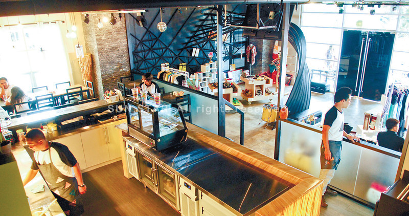 BEGINNING. Where the café delights start. (Photo by Alex Badayos of Sun.Star Cebu)