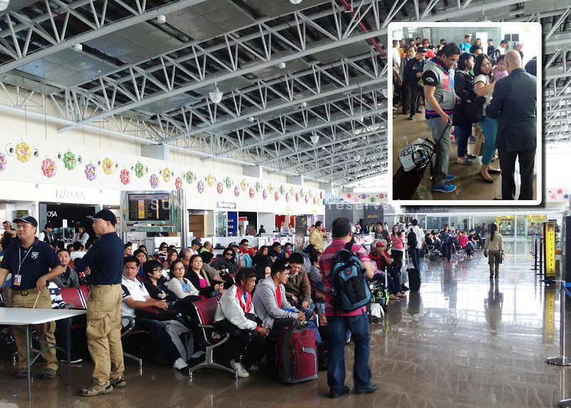 Busy Clark airport