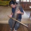 CAGAYAN DE ORO. Waway Saway of Talaandig tribe tinkers his indigenous musical instrument. August 2012. (Rosalie Zerrudo)