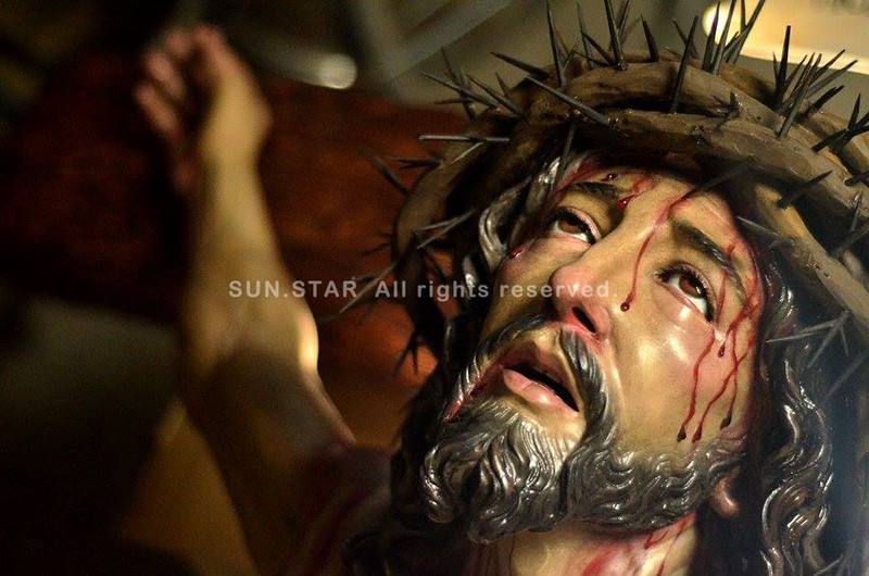 Crucified Christ by Pampanga sculptor