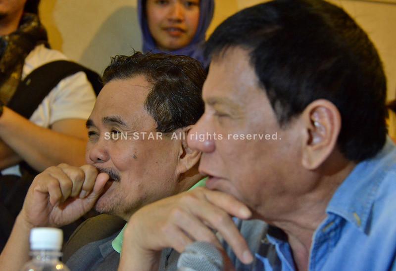 Duterte and Iqbal in Bangsamoro Basic Law dialogue