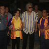 CAGAYAN DE ORO. Mayor Vicente Emano (2nd from right) joins Carmen Borja (2nd from left), president of the United Market Vendors Association (UMVA), with (from left) Senior Police Inspector Elmer Robas, commander of the Cogon Police Precinct, and Toto Padinit, vice president of UMVA. (Joey P. Nacalaban)