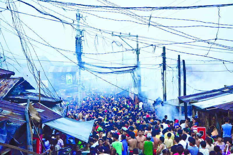 CEBU. More than 160 families lost their homes in Sitios Huyong-Huyong and Tinabangay 1 in Mambaling, Cebu City. (Alex Badayos photo/Sun.Star Cebu)