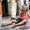 CEBU. A street kid sleeps in the sidewalk near Fuente, Osmeña Circle, Cebu City. (Photo by Dave Tangarorang of Sun.Star Network Exchange)