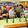 Wine drinkers at Swiss Deli and Restaurant in Davao City