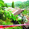 Landslide prone area in Cebu
