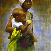 MOTHER AND CHILD by Emar Locarte