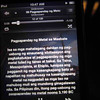 MANILA. Ayala Museum visitors can now learn some significant events in Philippine history through an iPod touch. (Virgil Lopez/Sunnex)