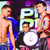 Colombian Jorle Estrada (left) vows to stop Merlito Sabillo (right) in seven rounds and take the crown back to Colombia. (Allan Cuizon photo/Sun.Star Cebu