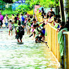 Heavy rain floods Cebu City