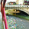 Polluted river in Barangay Pasil, Cebu City