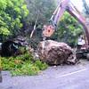 Rock slide in Calbayog City, Samar
