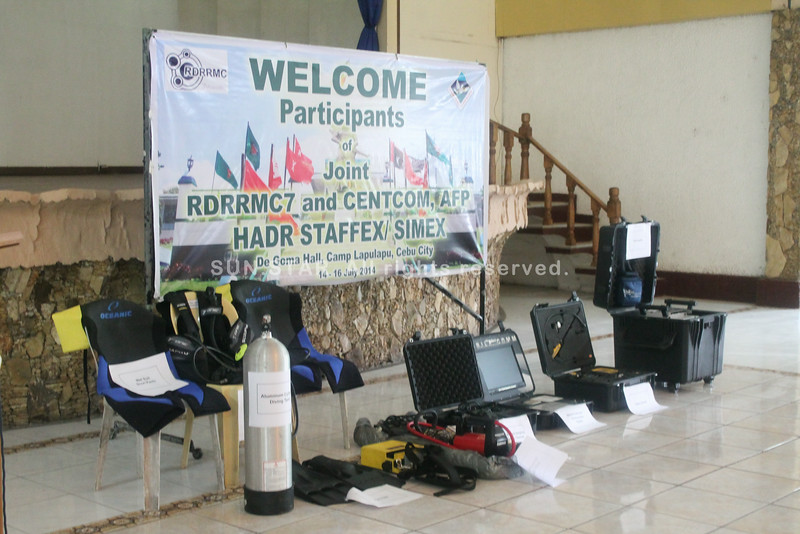 OCD give search, rescue equipment to AFP