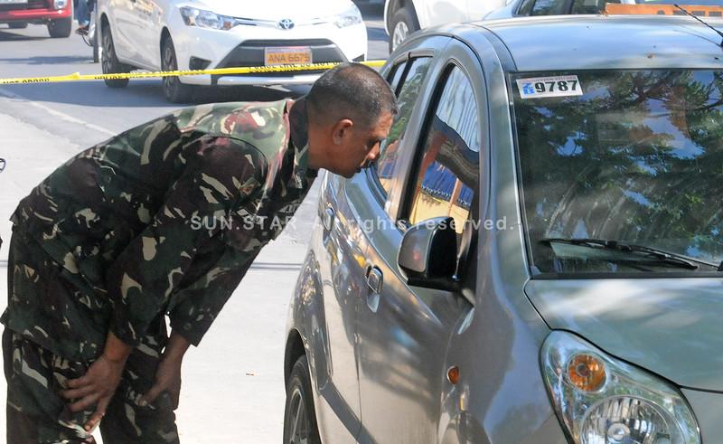 Col. Edwin Respecio's car used during ambush
