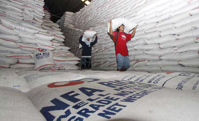 NFA rice supply in Cordillera