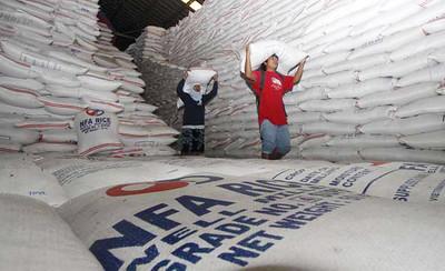 NFA rice supply in Cordillera