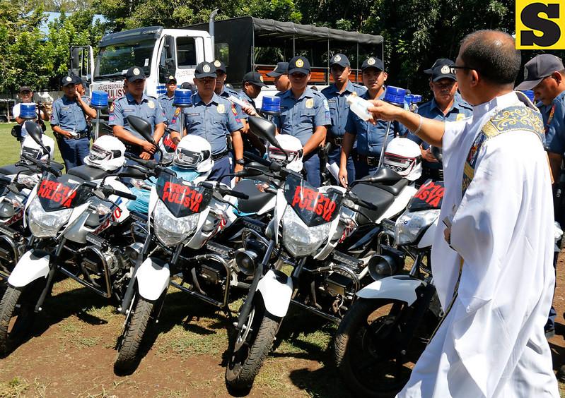 127 motorbikes for Northern Mindanao police