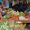 Vegetable vendor in Langihan, Butuan
