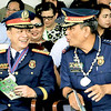 Generals Vicente Loot and Marcelo Garbo Jr.