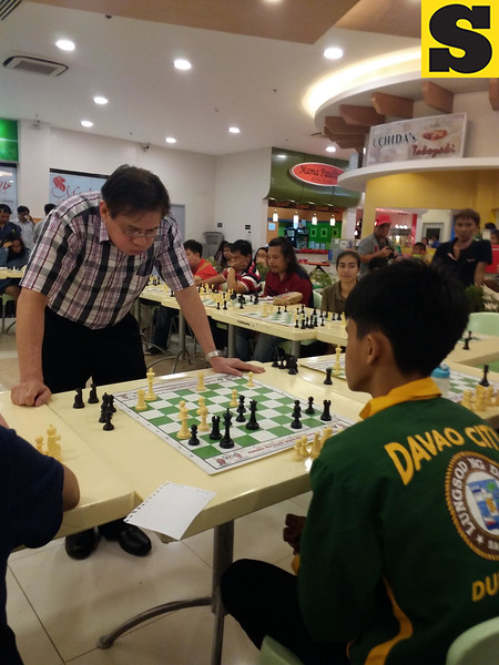 Filipino chess grand master Eugene Torre